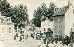 TULLE - AVENUE De PARIS - CLICHE ASSEZ RARE - - Tulle