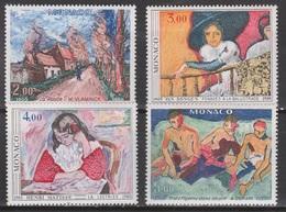 MONACO 1980 LE FAUVISME SÉRIE**. 24,5 € - Modernos