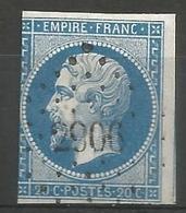 FRANCE - Oblitération Petits Chiffres LP 2906 SISTERON (Alpes-de-Haute-Provence) - 1849-1876: Classic Period