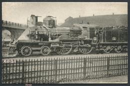 Locomotives Du PLM - Machine N° C. 44 (type 220) - N° 559 Edit. H. M. P. - Voir 2 Scans - Trains