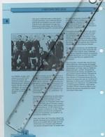 20/01 Fiche Jeux Olympiques 26,5 X 20 Cm 2 Scans Belgique Medaille D'or Aux Jeux Olympiques D' Anvers 1920 Voir Les Noms - Zonder Classificatie