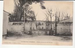 île D'Oléron (Charente Maritime)  Château D'Oléron , Ecole Communale Des Garçons - Ile D'Oléron