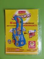 Magnet - Savane Brossard - Carte De L'Amérique Du Nord - Grandes Antilles - Neuf Sous Blister - Magnets