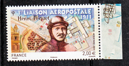 France PA  74a Henri Pequet  Neuf ** TB MNH Sin Charnela Faciale 2 - Luftpost