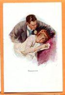FEL1448, Honeymoon, Lune De Miel, Mariage, Non Circulée - Couples