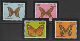 Pakistan 1983 Papillons 568-71 4 Val ** MNH - Pakistan