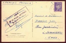 Franchise Militaire  * Camp De La Police Nationale St - Sulpice  TARN  *    1939 1945 - Marcofilia (sobres)