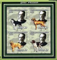 Mozambique 2002 Louis PASTEUR Dog Chien Imperf - Louis Pasteur