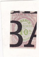 T.F D'Affiches N°2 - Revenue Stamps