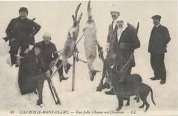 CHAMONIX : Une Jolie Chasse Aux Chamois - Chamonix-Mont-Blanc