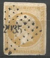 FRANCE - Oblitération Petits Chiffres LP 2935 SOULAINES (Aube) - 1849-1876: Période Classique