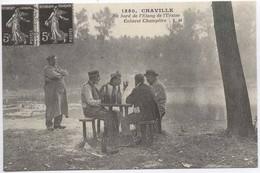 CHAVILLE : Au Bord De L Etang De L Ursine , Cabaret Champetre - Chaville