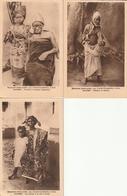 Lot De 6 Cartes Du Dahomey - Dahomey