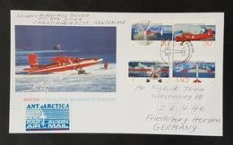 Antartica, Australia Antarctic Territory, Mi.- Nr. 161/4 Auf Brief Nach Friedeburg - Australisches Antarktis-Territorium (AAT)
