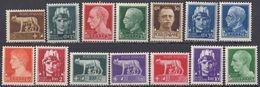 ITALIA - 1929/1930 - Lotto Composto 14 Valori Nuovi MNH: Yvert 224, 227/231 E 234/241. - 1900-44 Victor Emmanuel III.