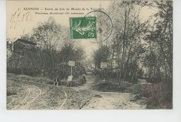 SANNOIS - Entrée Du Bois Du Moulin De La Terrasse - Sannois