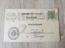 GÄ32087 Württemberg Ganzsache Stationery Entier Postal  DPB 52 Von Stuttgart - Wurtemberg