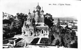 06 - Nice - L'Eglise Russe (Edit. D'Art Munier, 1939) - Monuments, édifices
