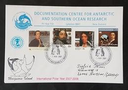 Antartica, Australien Brief International Polar Year 2007/8 - Briefmarken