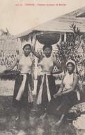 TONKIN: Femmes Revenant Du Marché - Vietnam