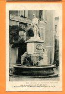 FEL1455, St-Laurent-Le-Minier, Monument Aux Morts, Postes, Télégraphe, Animée, 1028, Circulée Sous Enveloppe - Frankreich