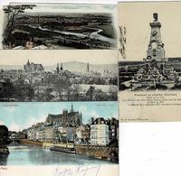 TP N° 68 Et 69 Du Reich Sur 4 Cartes Postales De Metz - Alsace-Lorraine