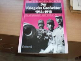 Hans Magenschab Der Krieg Der Grosvater 1914- 1918 Edition S 224 Pages - Libros