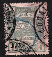 1908  DEUTSCH OST AFRIKA - WOERMANN LINIE  - 1 KAIMARK - Hafengebühr / Wharfage -  Selten - Colony: German East Africa