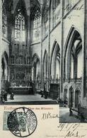 TP N° 68 Du Reich Seul Sur Carte Postale De Freiburg Pour Trois Epis - Alsace-Lorraine