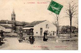 Landre: Rue De Pienne (attelage De Chien) - Autres Communes