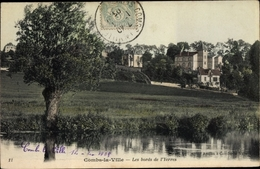 Cp Combs La Ville Seine Et Marne, Les Bords De L'Yerres - Autres Communes