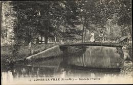 Cp Combs La Ville Seine Et Marne, Bords De L'Yerres - Autres Communes