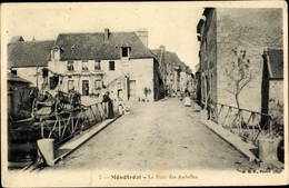 Cp Ménétréol Sous Sancerre Cher, Le Pont Des Aubelles - France