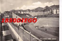 SALERNO - PANORAMA DELLO STADIO F/GRANDE VIAGGIATA 1957 ANIMAZIONE - Salerno
