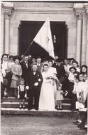 Carte Photo : Couple : Mariage : Sortie De L'église - à Définir - - Fotografie