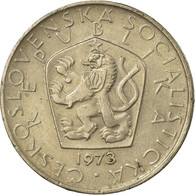 Monnaie, Tchécoslovaquie, 5 Korun, 1973, TTB, Copper-nickel, KM:60 - Tchécoslovaquie