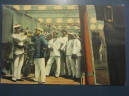 Carte Postale Soldats Marins à Bord - Personnages