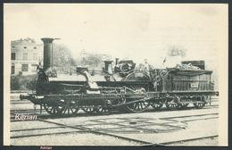 Locomotives De L'EST - Machine N° 174 Du Type 210 - H. M. P.  N° 149  - Voir 2 Scans - Trains