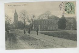 VITRY SUR SEINE - Le Château Et L'Eglise - Vitry Sur Seine