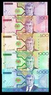 # # # 5 Banknoten Turkmenistan UNC # # # - Turkmenistan