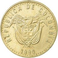 Monnaie, Colombie, 50 Pesos, 1990, TTB, Copper-Nickel-Zinc, KM:283.1 - Colombie