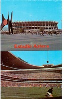 Postcard Stadium Mexico City Mexico Azteca Stadion Stadio Estadio Stade - Sports - Football  Soccer - Calcio