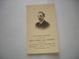 FALISOLLE ( SAMBREVILLE ) - FP DECES - PHARMACIEN DEMANET 1948 ( NE A RONSE RENAIX 1898 ) - Décès