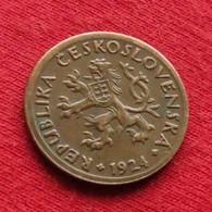 Czechoslovakia 10 Haleru 1924 KM# 3 *V2  Tchecoslovaquie Checoslovaquia Cecoslovacchia Tchèque Et  Slovaque - Cecoslovacchia