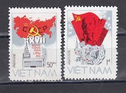 Vietnam 1986 - 27eCongres Du Parti Communiste De L'USSR, Mi-Nr. 1661/621, MNH** - Vietnam