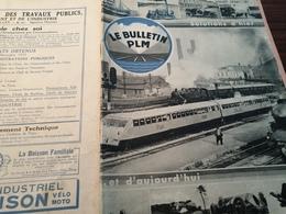 BULLETINP.L.M /AUTORAIL BUGATTI /SERVICES A DOMICILE/ETREMBIERES SOLARIUM /AGENTS ARTISTES 24 ème SALON - 1900 - 1949