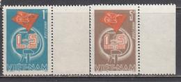 Vietnam 1986 - Centenaire Du 1er Mai. Journee Du Travail, Mi-Nr. 1681/82, MNH** - Vietnam