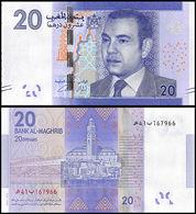 MOROCCO - 20 Dirhams 2012 {Bank Al-Maghrib} UNC P.74 - Marokko
