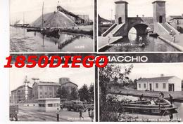 SALUTI DA COMACCHIO - MULTIVEDUTE F/GRANDE VIAGGIATA ANIMATA - Ferrara