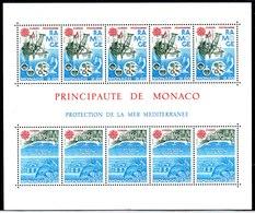 Mónaco Hoja Bloque Nº Yvert 34 ** Valor Catálogo 31.0€ - Blocs